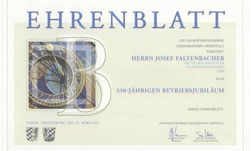 Ehrenblatt